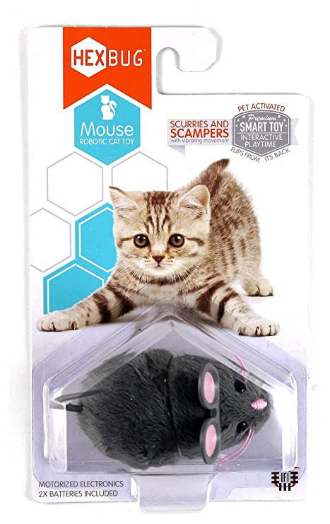 Best cat toys for indoor cats - HEXBUG Mouse Robotic Cat Toy