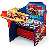 Delta Children Chair Desk with Storage Bin - Ideal for Arts & Crafts, Snack Time, Homeschooling, Homework & More, Nick Jr. PAW Patrol