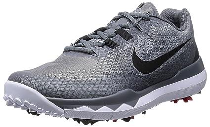 Amazon.com: Nike TW tenis de golf negros/rojos/gris oscuro ...