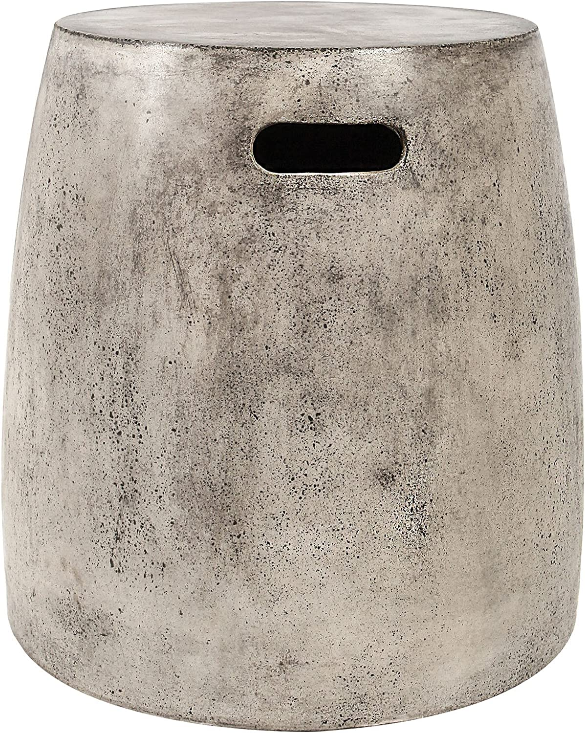 Dimond Home stool, One Size, Gray