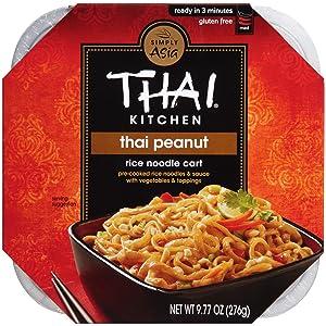 Thai Kitchen Gluten Free Thai Peanut Rice Noodle Cart, 9.77 oz (Pack of 6)