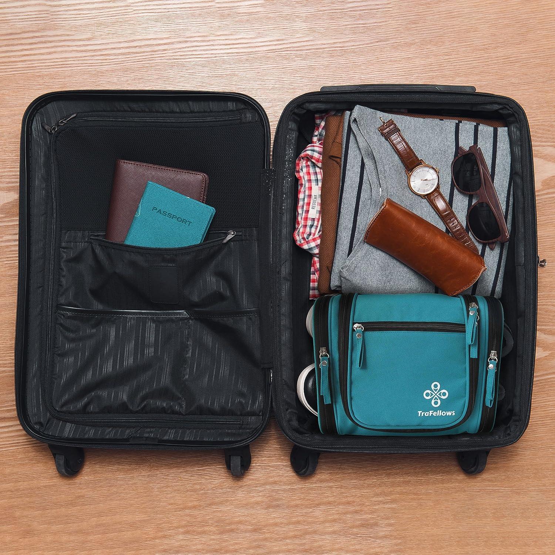 rangez facilement maquillage /& affaires de toilette r/ésistant /à l/'eau Vanity| Organiseur /à suspendre Trousse de toilette voyage homme /& femme