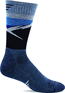 product image for Sockwell Men's Modern Mountain Crew Moderate Compression Sock