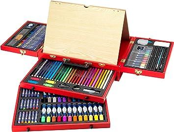 itsImagical - Art Studio Da Vinci, maletín de dibujo y pintura (Imaginarium 75336): Amazon.es: Juguetes y juegos