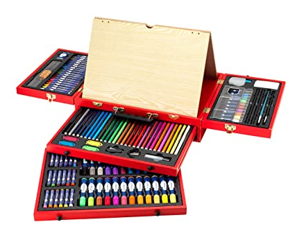 Y Da Pintura Itsimagical VinciMaletín Dibujo Art Studio De oWrxdCBe