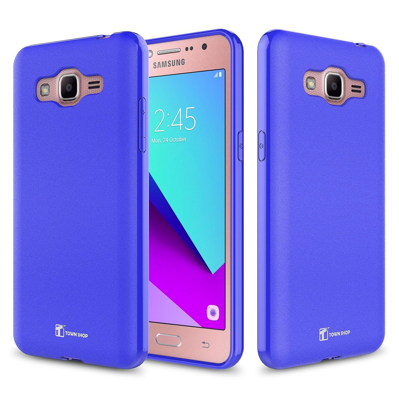 Amazon Galaxy J2 Prime 2017 Case TownShop Black Soft TPU Skin Cover for Samsung Galaxy Grand Prime G532 Samsung Galaxy J2 Prime 2017 Cell