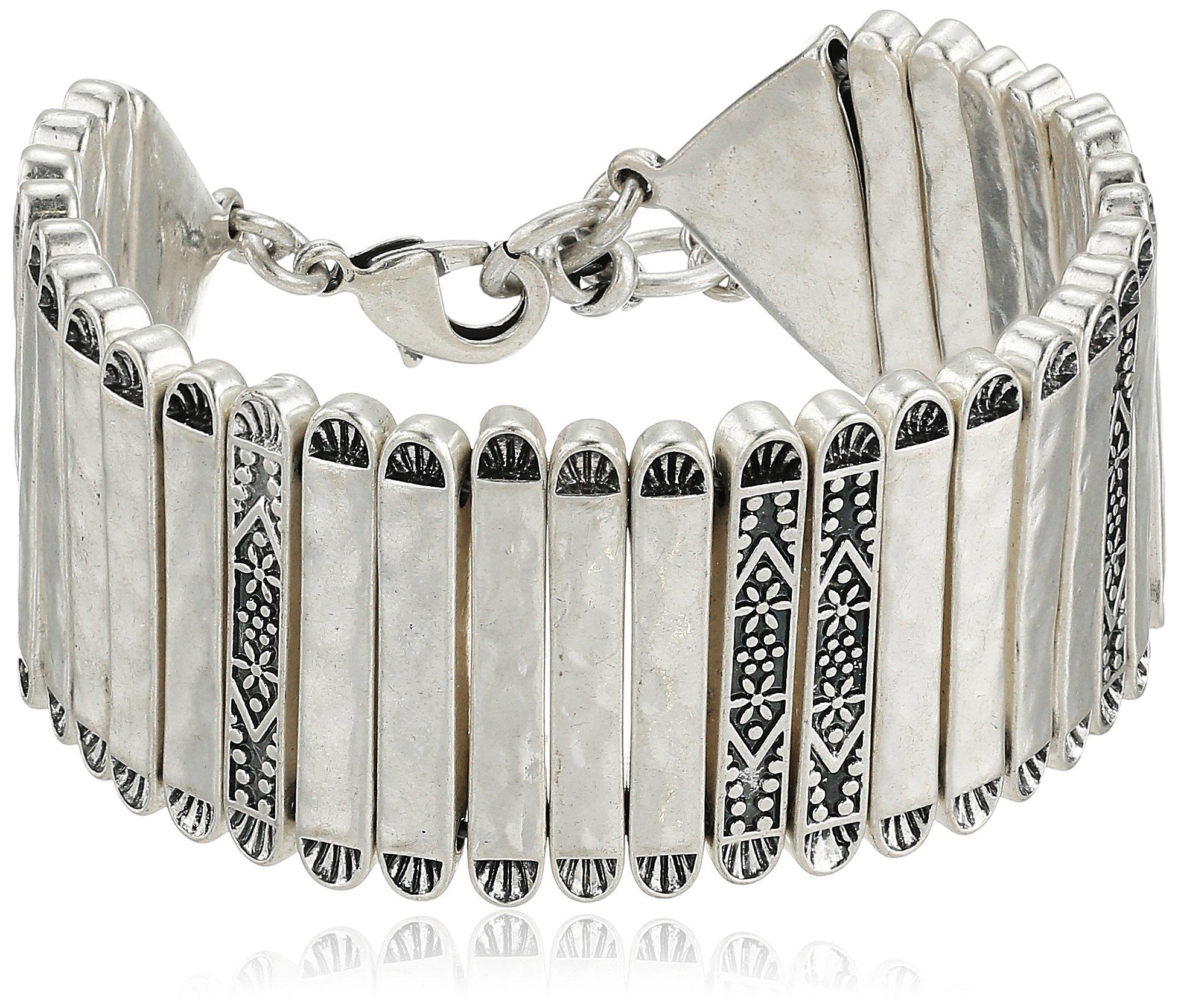 Lucky Brand Women's Silver Link Bracelet