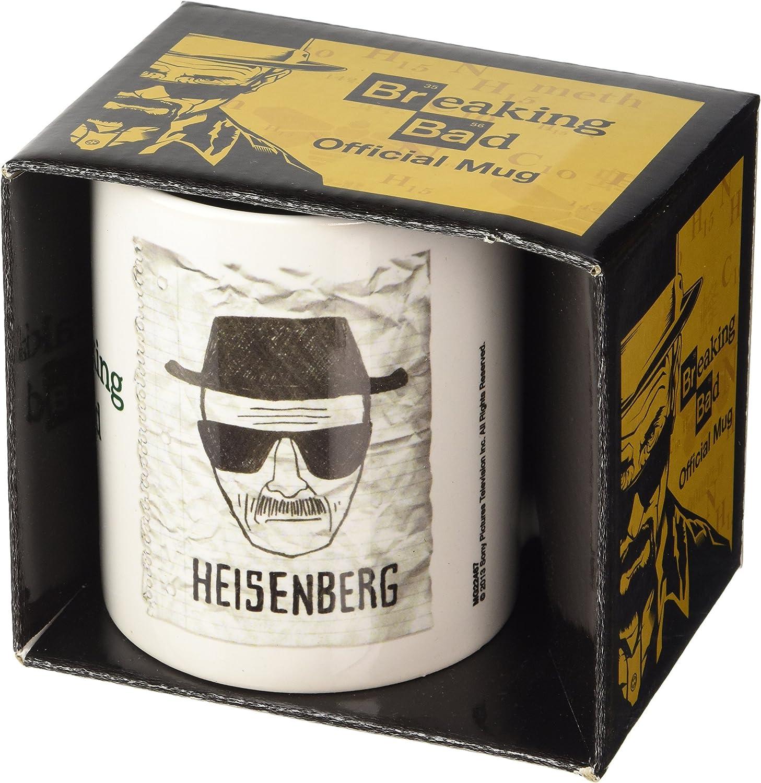 Unica GB Eye MG22467 Tazza Breaking Bad Heisenberg Wanted Ceramica