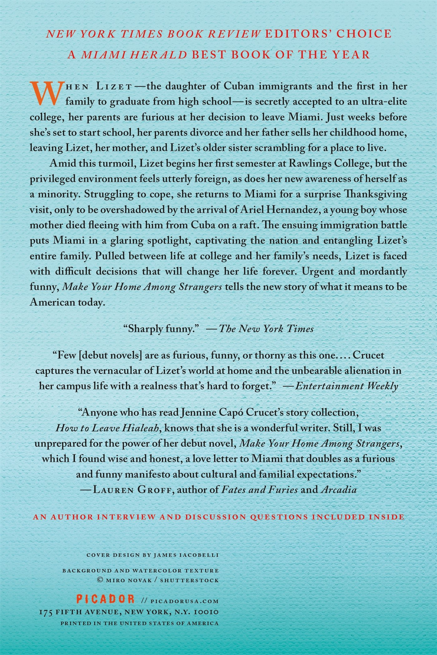 Make Your Home Among Strangers: A Novel: Jennine Cap� Crucet:  9781250094551: Amazon: Books