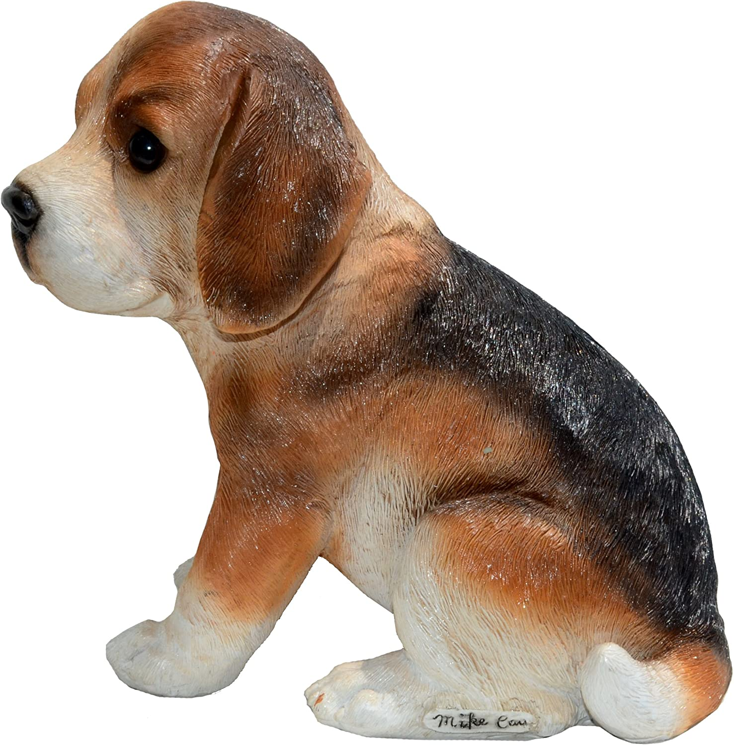 Michael Carr Designs Nosy-Beagle S Puppy Love Outdoor Dog Figurine for Gardens, patios and lawns (80097)