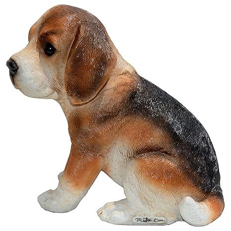 Michael Carr Designs 80097 Nosy Beagle Puppy Statue, Small