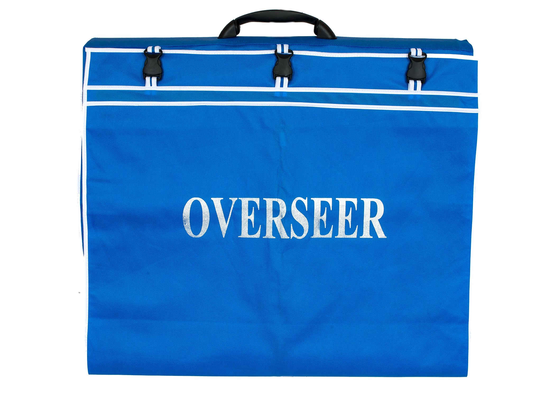 PREMIUM CLERGY OVERSEER GARMENT BAG FOR ROBES AND JACKETS(ROYAL/WHITE)