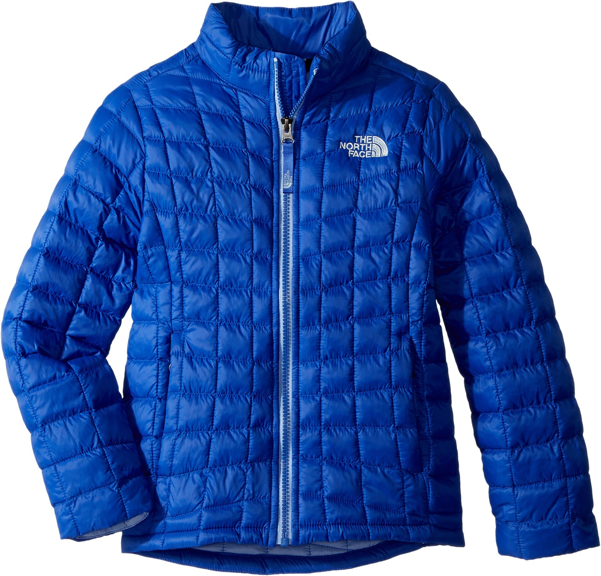 The North Face Kids Girl's Thermoball Full Zip (Little Kids/Big Kids) Dazzling Blue/Collar Blue Large by The North Face