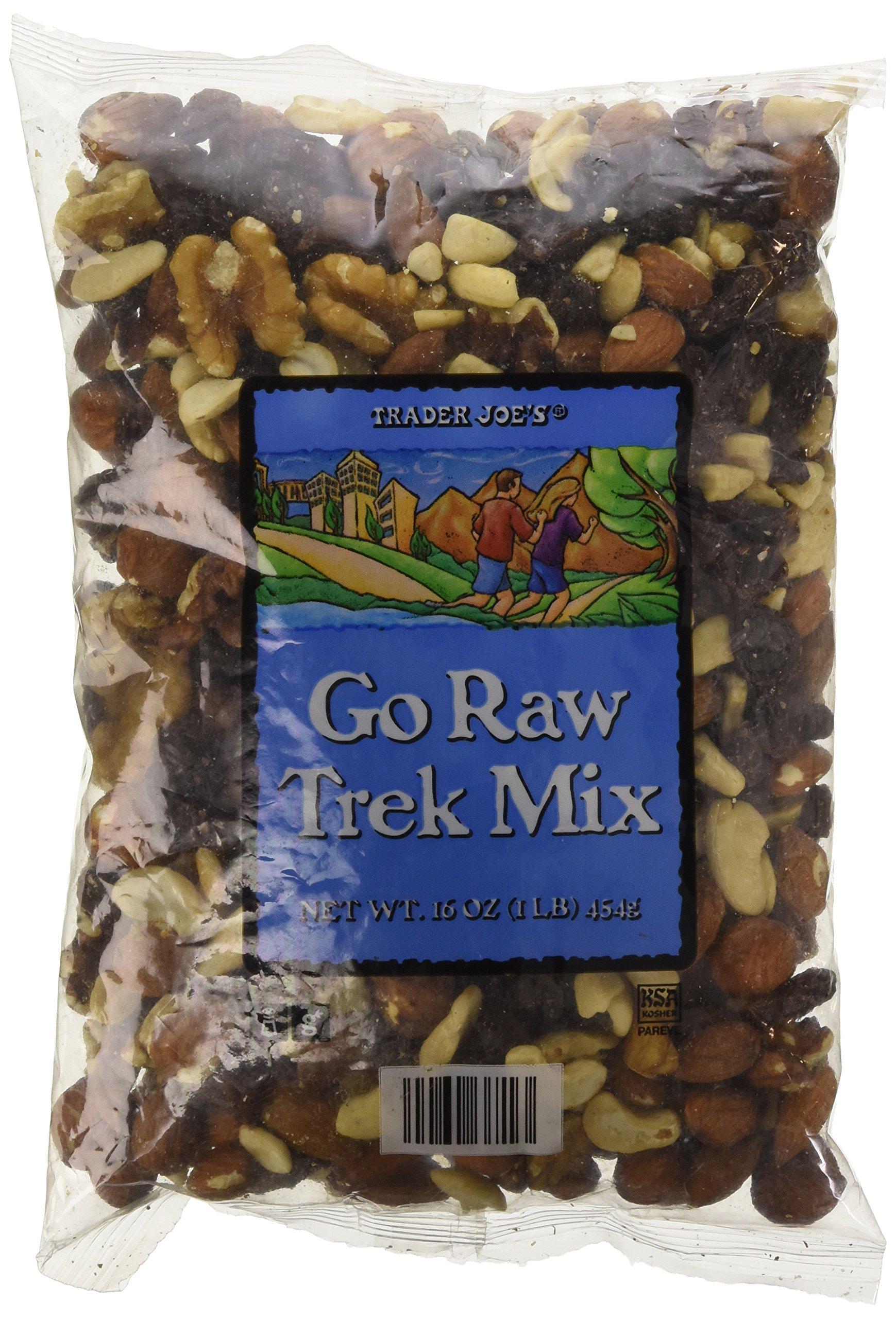 Trader Joe's Go Raw Trek Mix - 1 lb bag