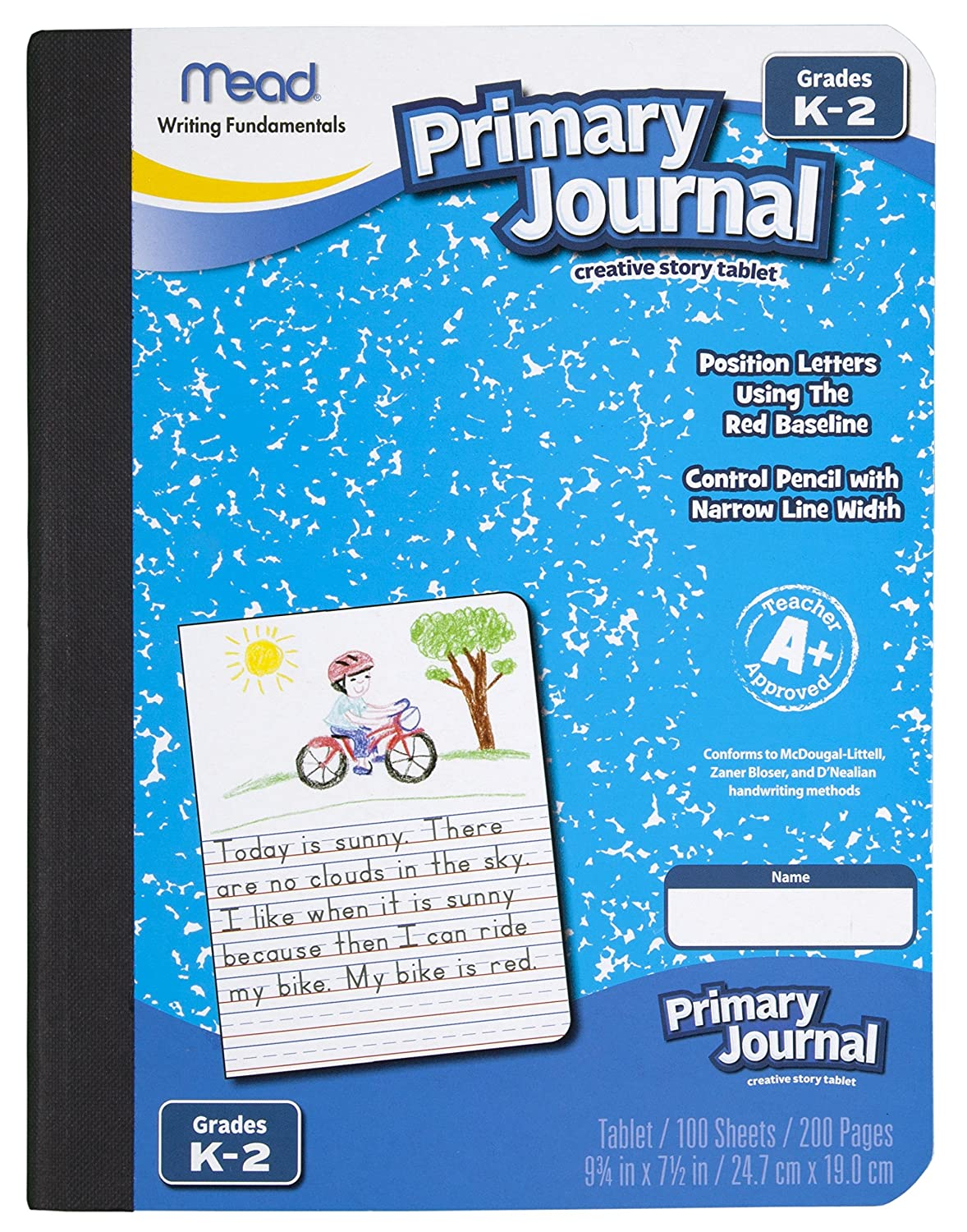 Amazon.com : Mead Primary Journal Creative Story Tablet, Grades K-2 ...