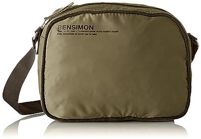 69f6cc5238 Bensimon femme Small Besace Sac bandouliere Vert (Kaki): Amazon.fr ...