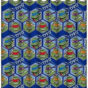 Teenage Mutant Ninja Turtles Dimension Curtains
