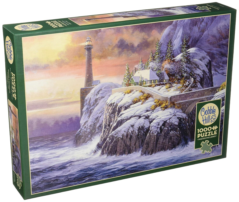 【新品、本物、当店在庫だから安心】 Cobblehill Cobblehill Puzzles 1000pc Puzzles - Winter Lighthouse Winter B07CSLNQ13, 韓国再発見:c44da9ad --- a0267596.xsph.ru