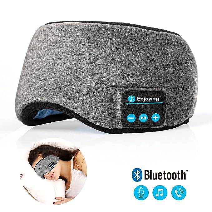 431a2b7ab59 Bluetooth Sleeping Eye Mask Headphones,Lavince Travel Sleeping Headphone  4.2 Bluetooth Eye Mask Handsfree Music