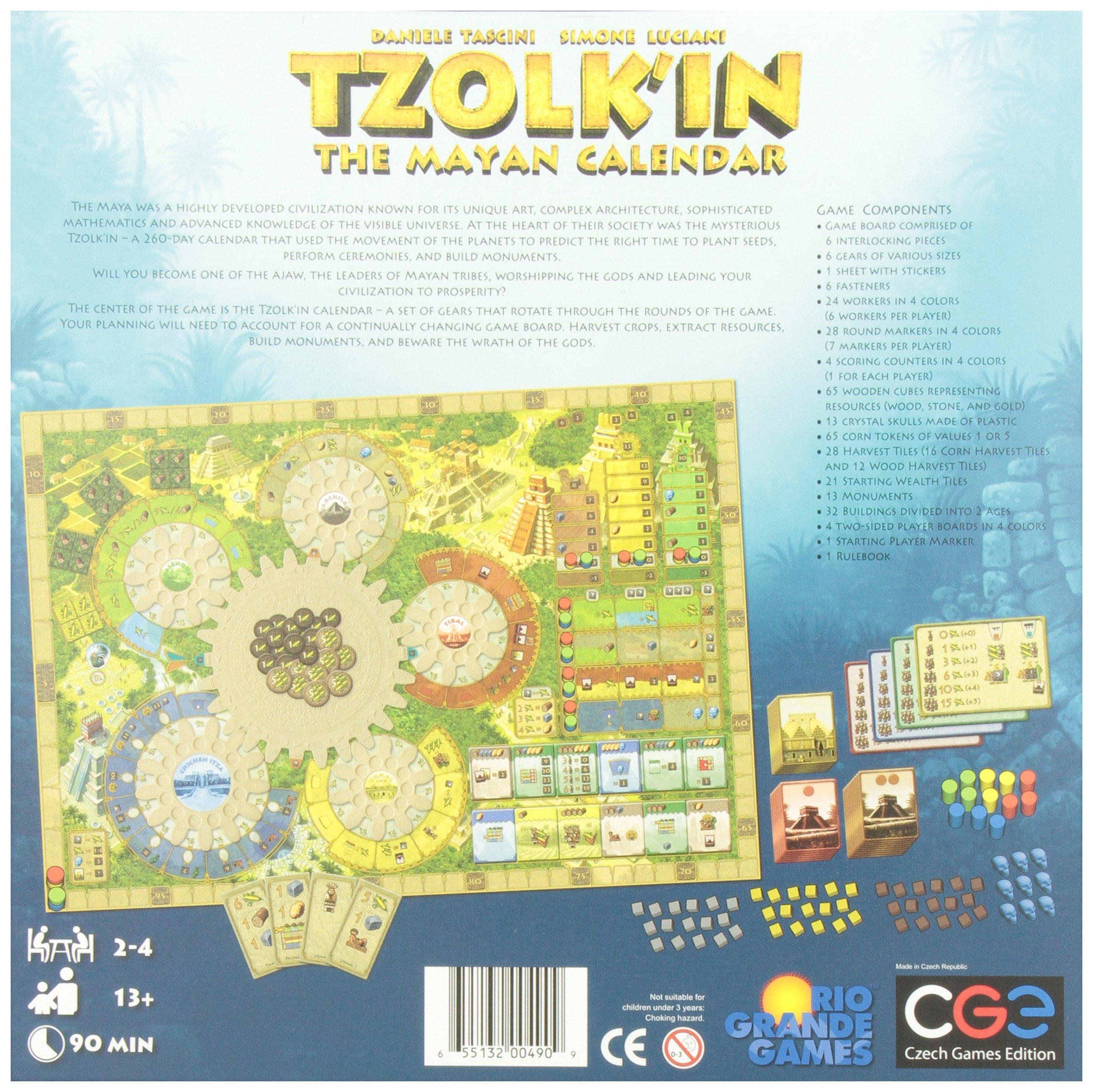 Czech Games Tzolk'in: The Mayan Calendar by Czech Games (Image #5)
