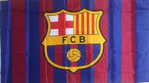 Tamaño grande 3 x 5 de bandera de Barcelona Messi, casa colores ...
