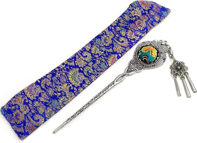 Traditionelle Chinesische Haarspange Schmuck Clip Vintage Haarschmuck