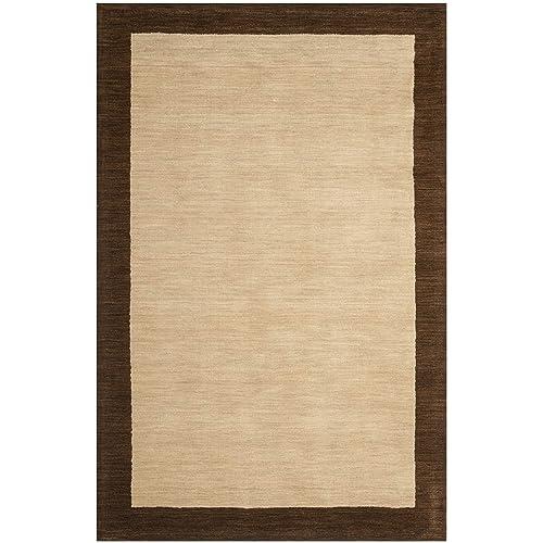 Safavieh Himalayan Beige Dark Brown Rug Rug Size 5 x 8