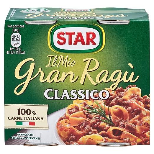 10 opinioni per Star- Gran Ragù, Classico- 360 g