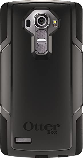 new product ef3fc 884d3 OtterBox Commuter Case for LG G4 - Retail Packaging - Black