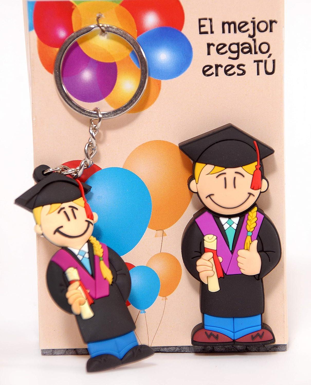 USB 16GB. Chica GRADUADA y Llavero de graduación. ENTREGAMOS ...