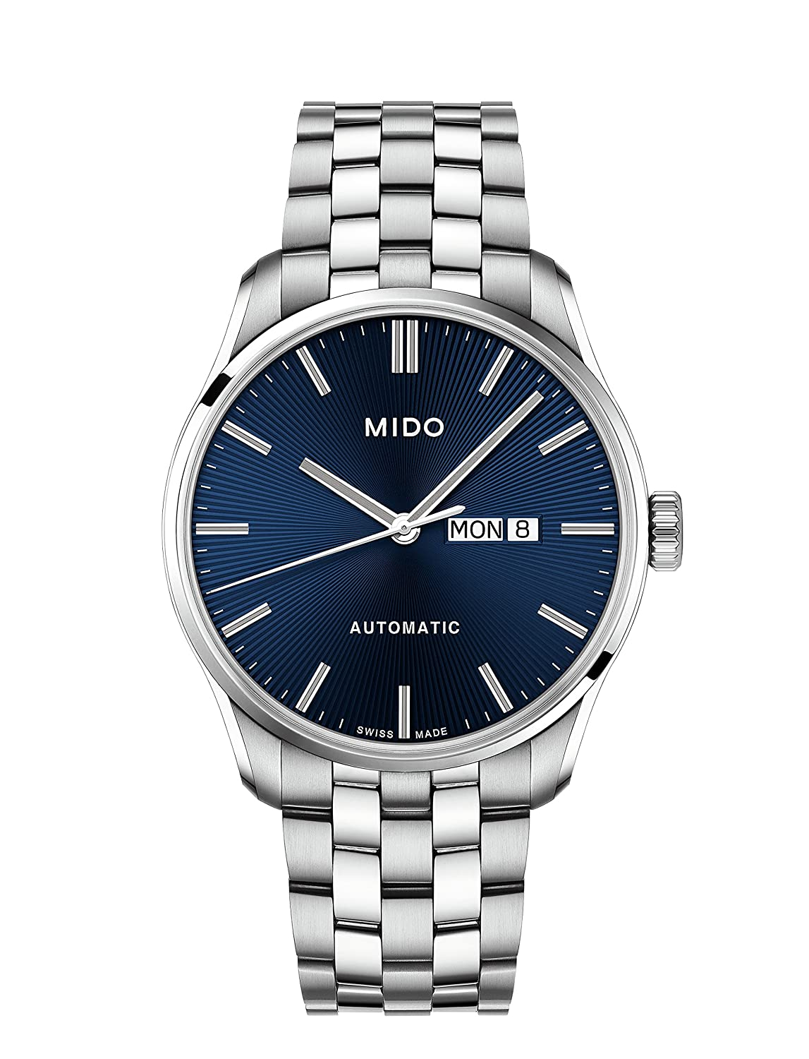 Amazon.com: Mido Belluna II Automatic Blue Dial Mens Watch M024.630.11.041.00: Mido: Watches