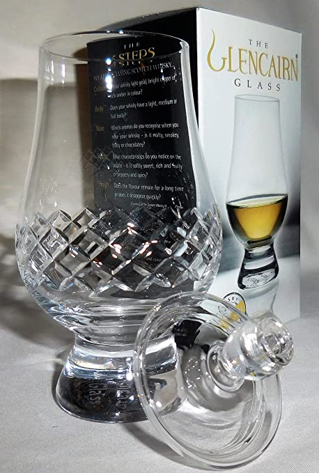 Well-known Amazon.com | The Glencairn Diamond Cut Scotch Whisky Tasting Glass  AX53