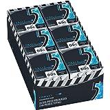 5 Gum Peppermint Cobalt Sugarfree Gum, 24 minipacks
