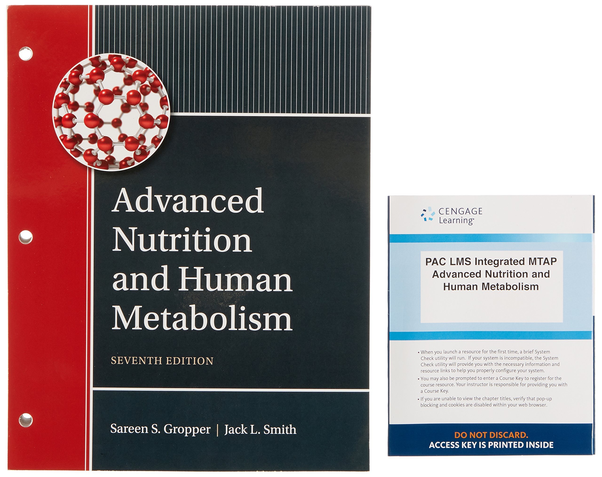 Advanced Nutrition and Human Metabolism: Sareen S. Gropper, Jack L. Smith,  Timothy P. Carr: 9781337593519: Books - Amazon.ca