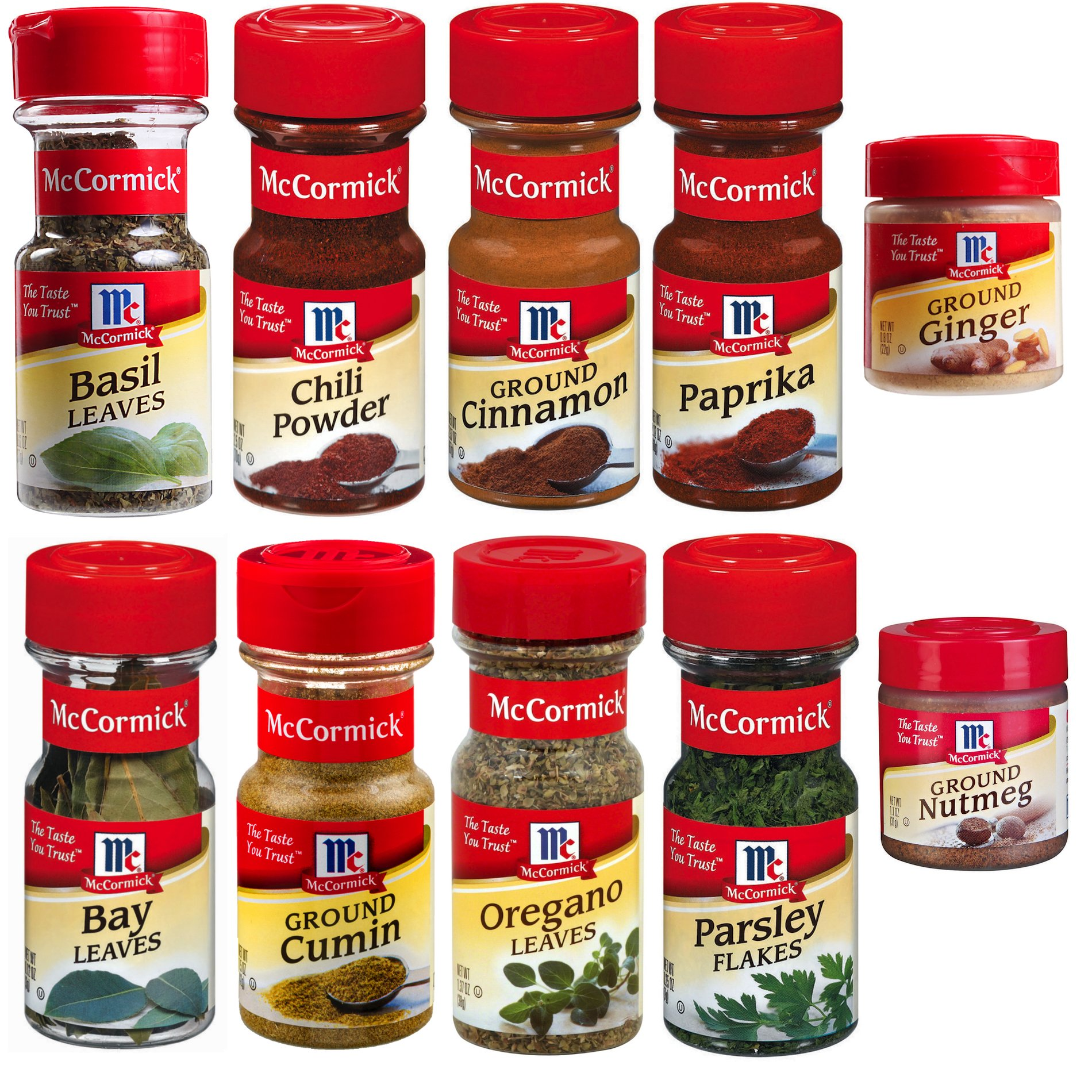 Mccormick Spice Rack: Amazon.com : Assorted McCormick Spice Grinder Variety Pack