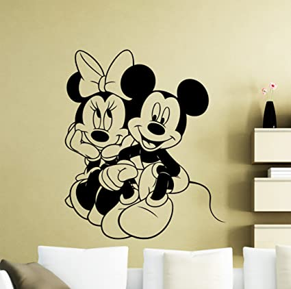 Vinilos Mickey Mouse Para Pared.Calcomania De Vinilo Para Pared De Mickey Mouse Diseno De