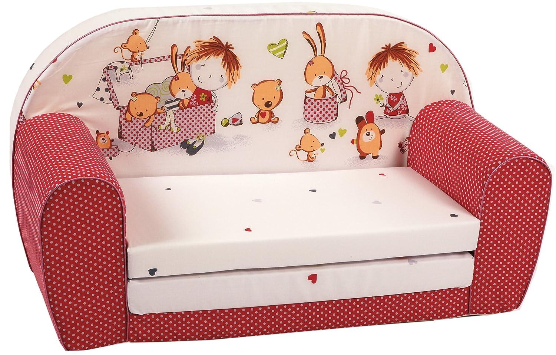 Knorr-Baby Mini Canapé-lit pour enfants, Design 2014 430305