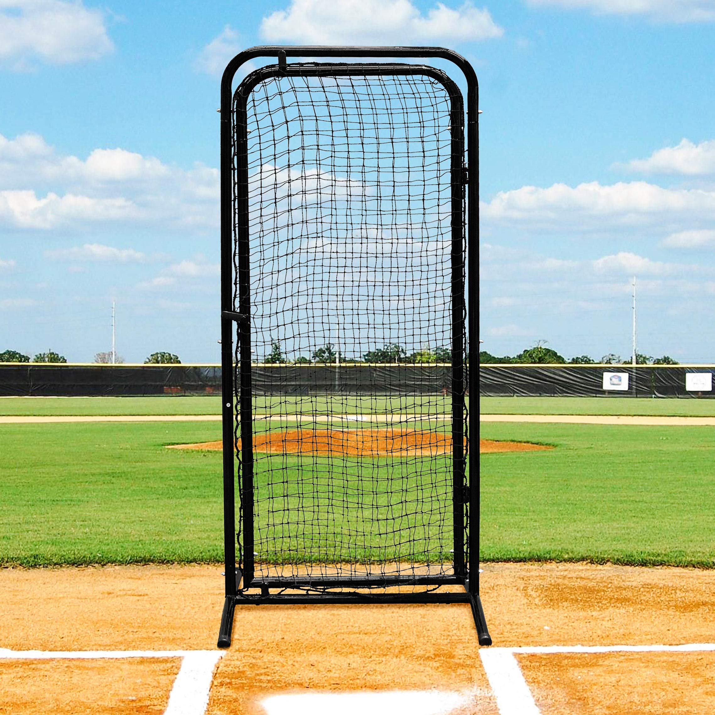 Fortress Batting Cage Door - Freestanding Baseball Cage Accessory by Fortress
