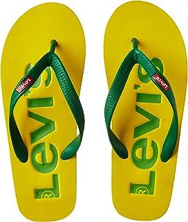 c7d3cfc3623 Levi s Men s White Flip Flops Thong Sandals - 7.5 UK India (41 EU ...