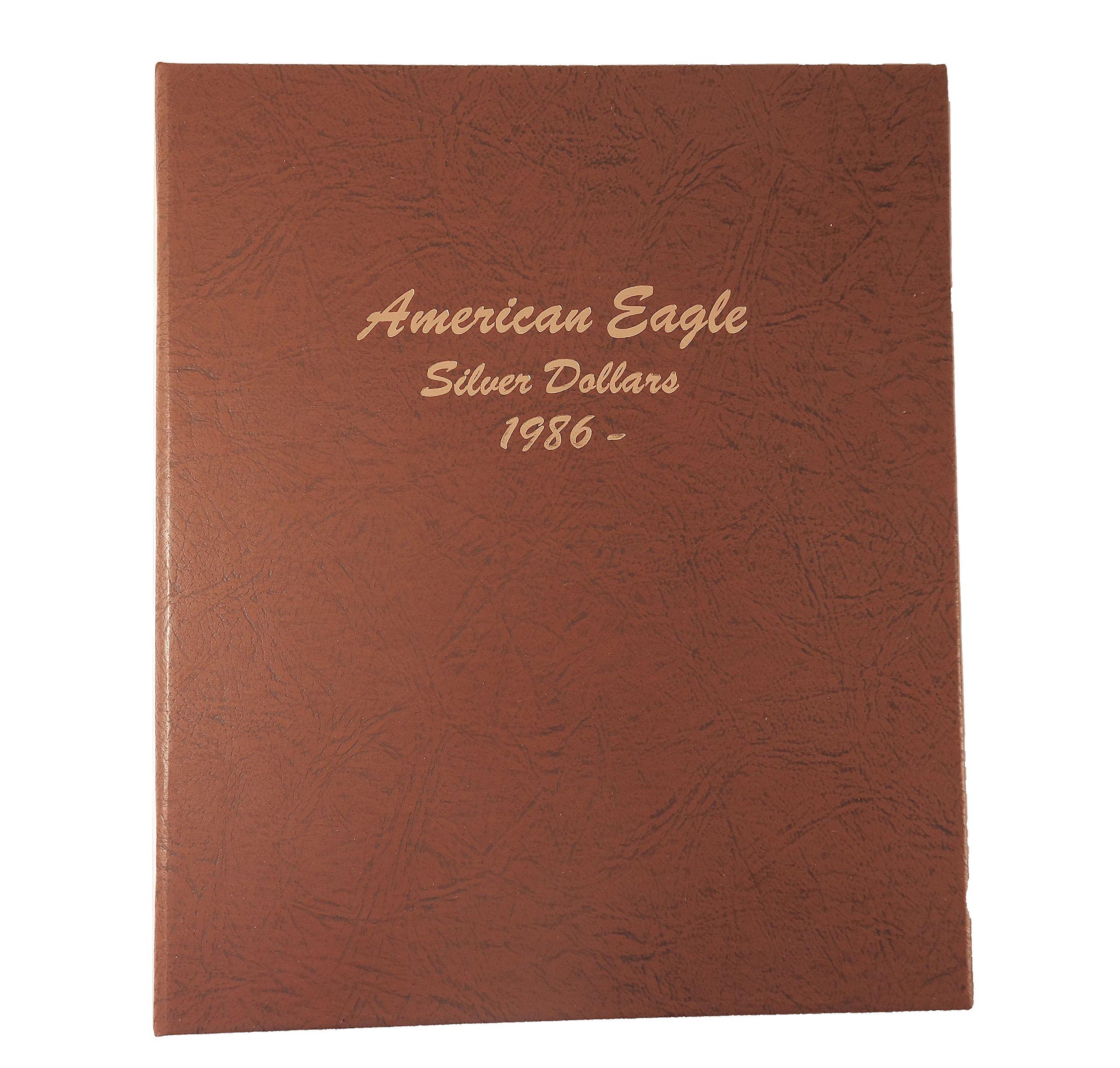 Dansco US American Silver Eagle Coin Album 1986 to Date #7181