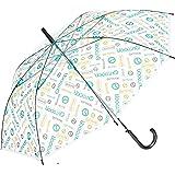 (アウトドアプロダクツ)OUTDOOR PRODUCTS OUTDOORビニール傘ロゴ総柄60cm