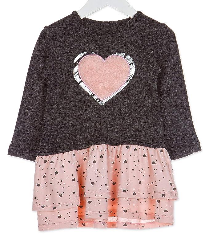 Losan Kinder M/ädchen Sweatshirt Gr.92-122 Pullover Langarm pink Glitzer neu!