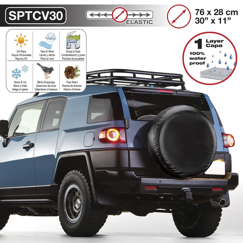 Sumex SPTCV30 Funda Cubre Rueda de Recambio, 76 x 28 cm: Amazon.es: Coche y moto