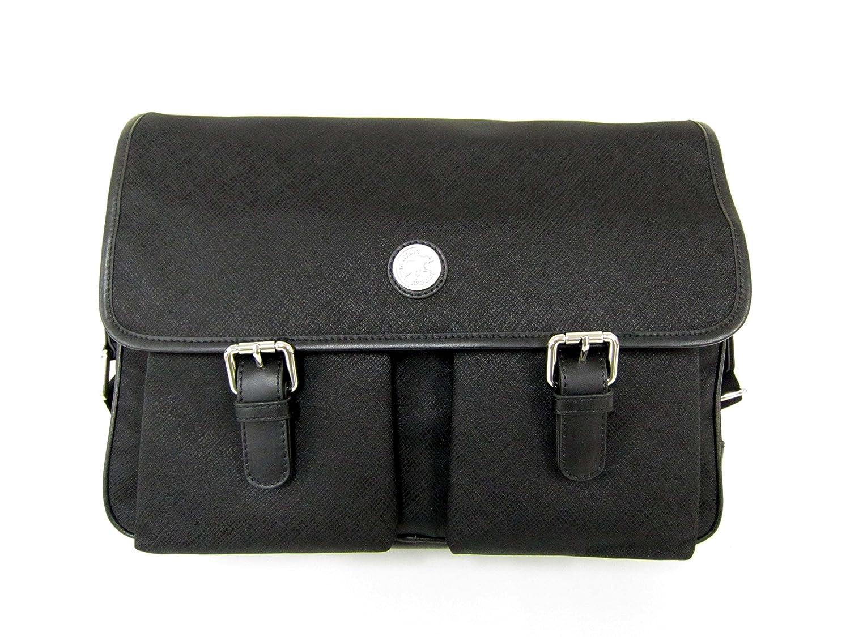 WUSHIYU Mens Messenger Bag Mens Leather Handbag Shoulder Bag Retro Leather Satchel Unisex Long Strap Crossbody Travel Messenger Bags 17.2 Inch Coffee Satchel Shoulder Bag