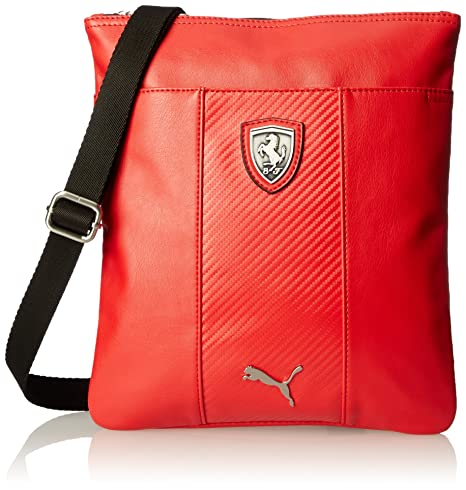 PUMA Mens Ferrari Long Sleeve Magazine Bag, Rosso Corsa, One Size   Amazon.ca  Luggage   Bags 612bef59de