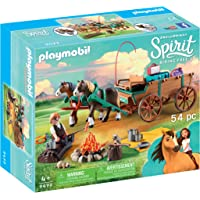 Playmobil Lucky's Dad and Wagon Playset
