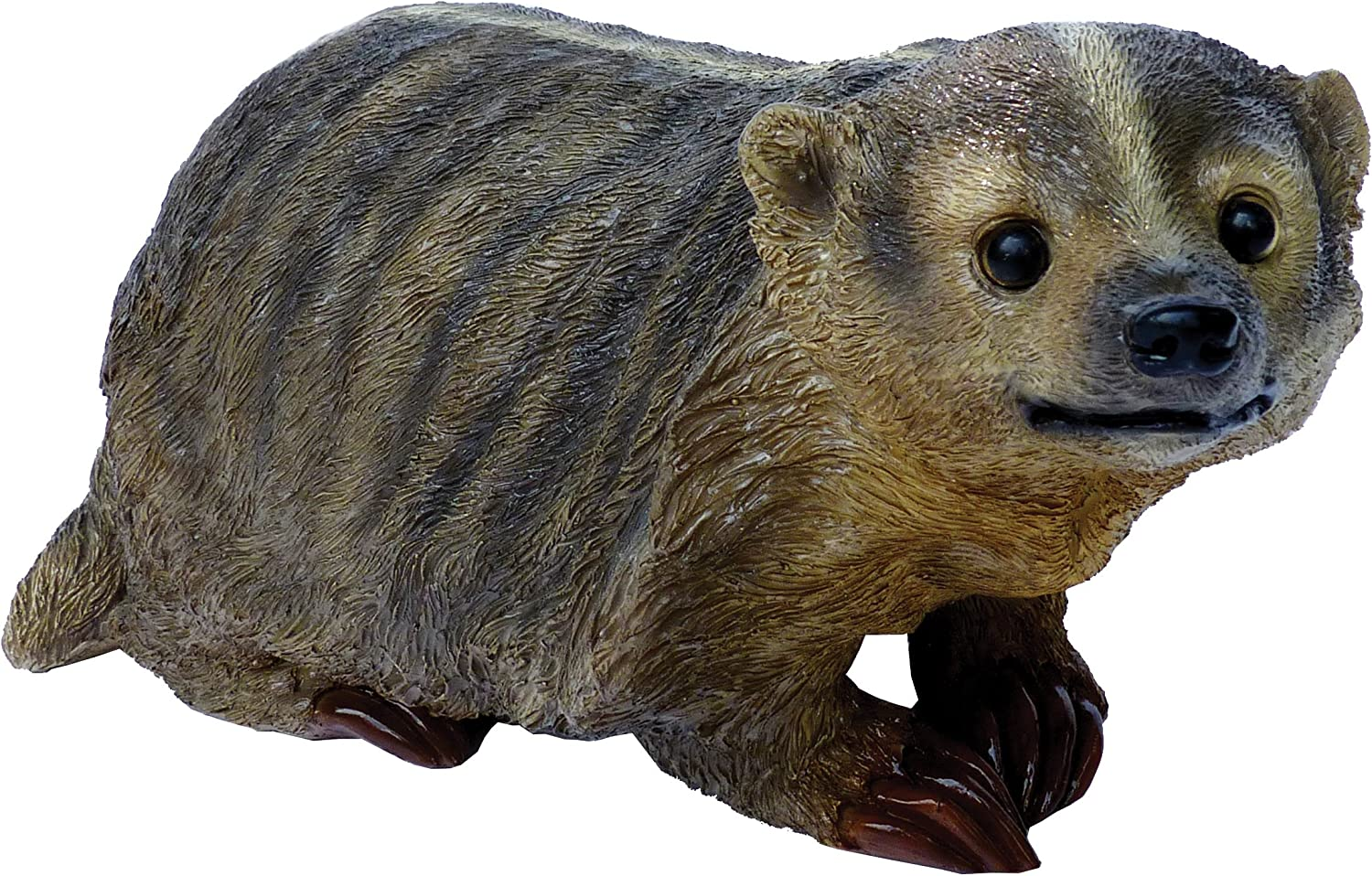 Badger by Michael Carr Designs - Outdoor Badger Figurine for gardens, patios and lawns (80051)