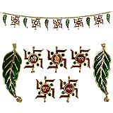 Jaipuri haat Metal Superior Quality Decorative Ethnic Bandarwal Toran Door Hangings