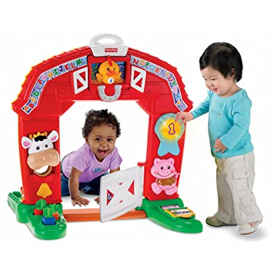 Fisher-Price Laugh & Learning Farm: Toys & Games