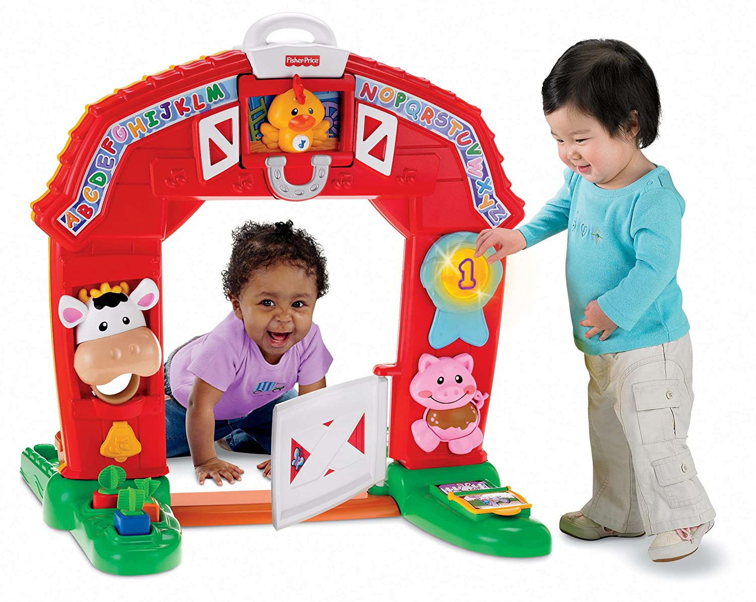 Amazon Fisher Price Laugh Learn Learning Farm Toys Games